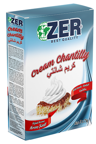 Zer Cream Chantilly Vanilla 150 Gr X 12 Box Zer Group